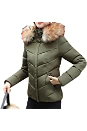 pujingge Mens Winter Warm Camo Print Lightweight Hoodie Down Jacket Coat