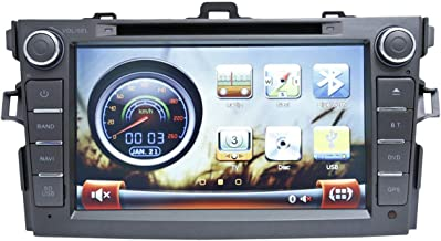 Magic Touch 8 Inch Car GPS and DVD for Toyota Corolla - Model 2007-2011