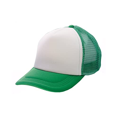 9f1796bff519d NYFASHION101 Blank Mesh Adjustable Snapback Cotton 6-Panel Trucker Hat Cap