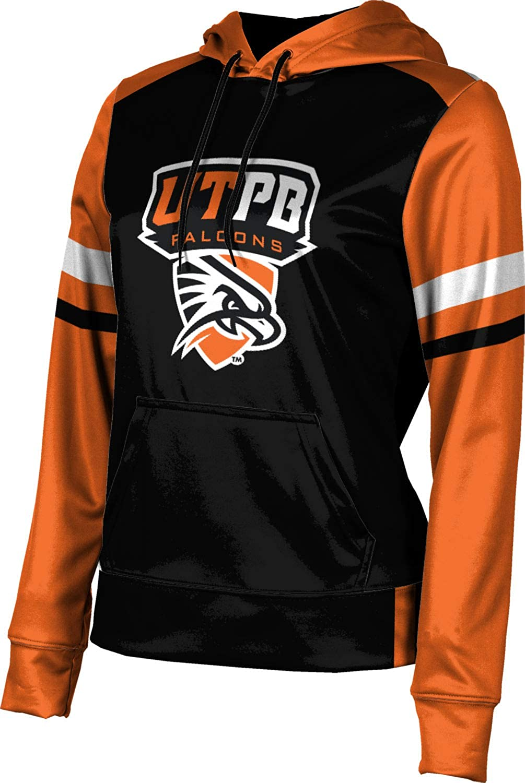 ProSphere The University of Texas of The Permian Basin Girls' Pullover Hoodie, School Spirit Sweatshirt (Old School)