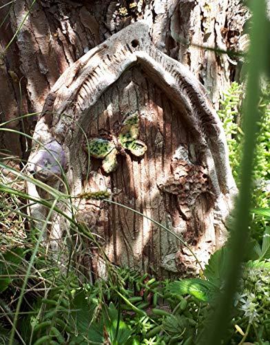 Elfentürchen, Keramik, Feentür, Elfentür, fairy door
