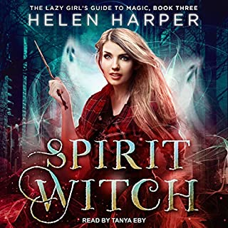 Spirit Witch     The Lazy Girl's Guide to Magic, Book 3              Written by:                                                                                                                                 Helen Harper                               Narrated by:                                                                                                                                 Tanya Eby                      Length: 8 hrs and 4 mins     16 ratings     Overall 4.7
