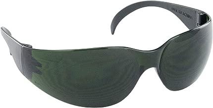 SAS Safety 5346 Nsx Eyewear with Polybag, 5-Shade Lens/Black Temple