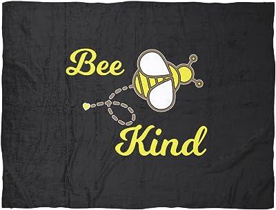 Bee Kind Fleece Blanket by Living You Co. | Kindness Blanket, Bee Blanket,