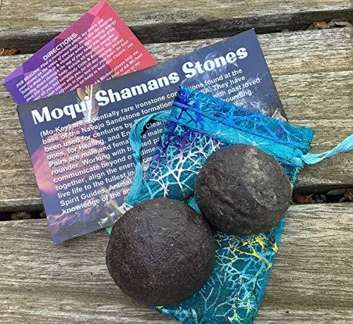 Moqui Shamans Stones Bonded Pair Medium