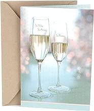 Hallmark Vida Spanish Wedding Greeting Card (Champagne Glasses)