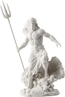 Poseidon Greek God of the Sea with Trident Statue
