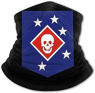 Marine Raiders - Pasamontañas para el cuello con protección UV, resistente al viento, multifunción, para niños y niñas