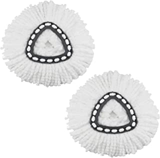 2 Pack Spin Mop Replacement Head for OCedar Microfiber Mop Head Refills Easy Cleaning Mop Head Replacement
