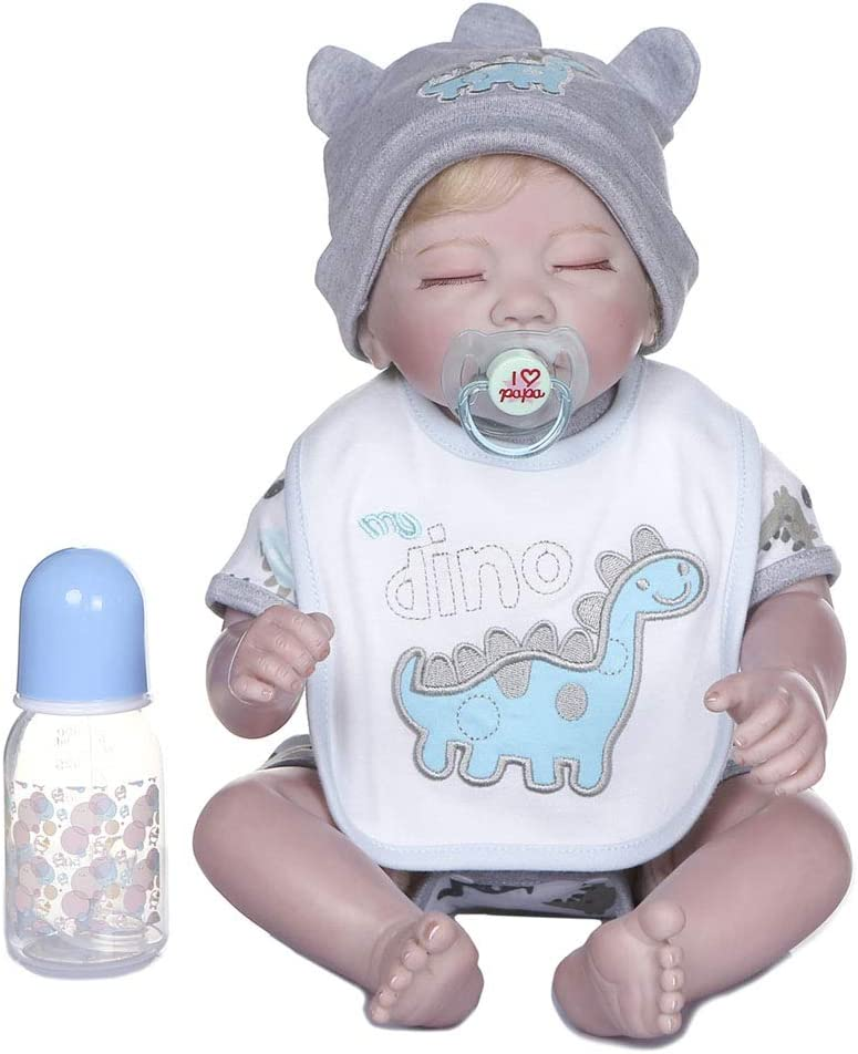 XIANSHI 48cm Credence Realistic Doll Opening large release sale Toddler Sleeping Girl Babies Pl Cute