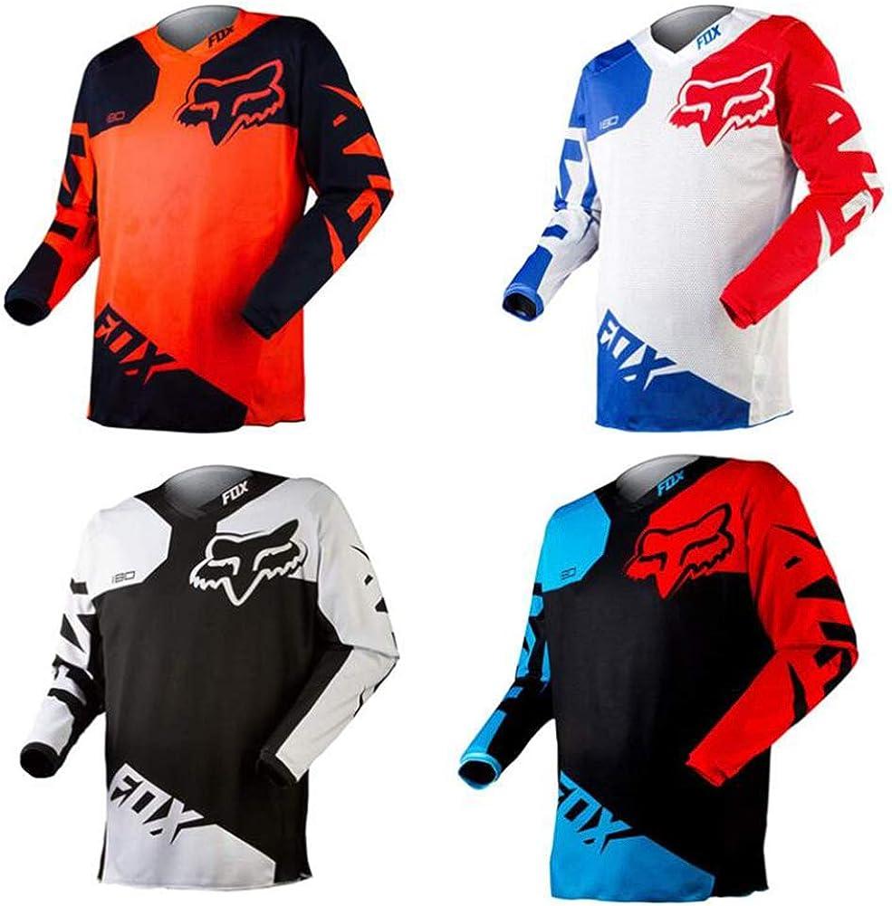 FDWEAEF Men Philadelphia Mall Motocross Jersey Riding New life Racing Cycling Cool-MA Shirt