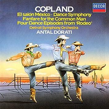 Copland: El Salón Mexicó; Dance Symphony; Rodeo; Fanfare for the Common Man