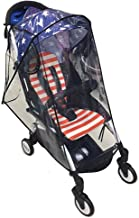 Kaxich Universal Baby Stroller Rain Cover, Pram Pushchair Buggy Raincover Wind and Dust Covers for Travel Shopping Park
