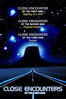 Close Encounters of The Third Kind Three Kinds Movie Cool Huge Large Giant Poster Art 36x54