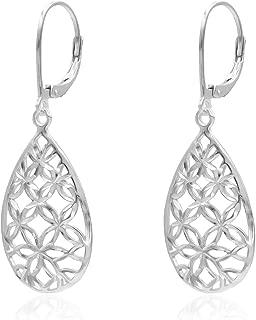 Best silver filigree drop earrings Reviews