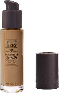 Burt's Bees Goodness Glows Liquid Makeup, Medium Sand - 1.0 Ounce