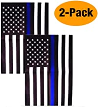 Consio Thin Blue Line American 12 x 18 Inch Garden Flag -2 Pack