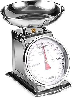 304 Acier inoxydable Échelle mécanique Mécanique 2kg 4kg (Color : 2kg Scale)