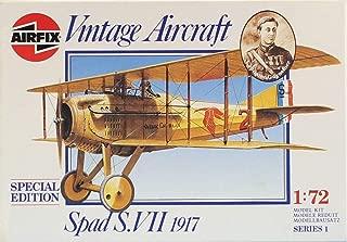 Airfix 1:72 Spad S.VII 1917 Special Edition Vintage Aircraft Plastic Kit #01081