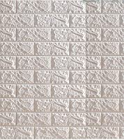 LRJQJ 3D立体壁紙 レンガクッション 防音シート タイルシール 壁紙シール DIYレンガ調 かる かる ブリック 防水 壁紙 断熱 DIYクッションシート 70*77CM リメイクシート 立体 壁用 レンガ 貼るだけ リアル風 (70*77CM一枚,A)