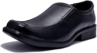 Sir Corbett Men's Sonata Black Synthetic Leather Formal Shoes