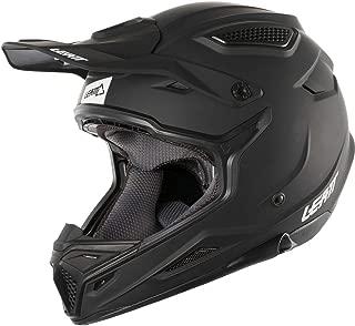 Leatt GPX 4.5 Adult Off-Road Racing Motorcycle Helmet - Satin Black/Large
