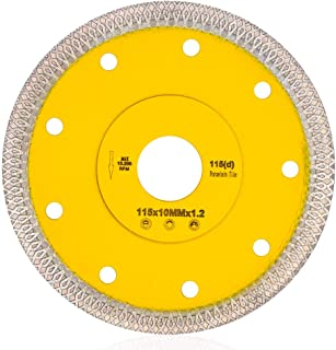 Supper Thin Diamond Porcelain Cutting Blade for Cutting Granite Marbles Tiles (4.5)