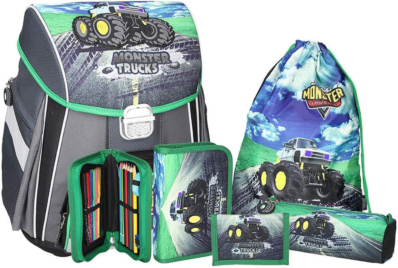 SPIRIT Schulranzen Set Start Start Start Monster Truck B07C7V1RXF   Billig ideal  b6cdf4