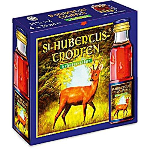 20 Boxen a 4 Fläschchen Hubertus Tropfen a 20ml 30{be67bff35102471e40b2f075b2224d0880a1415a24308a7786eb53e2da401fa4} Vol. 20 x 4 x 20ml