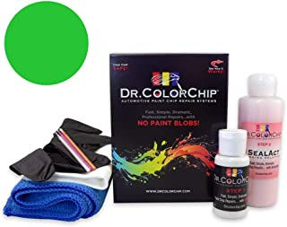 Dr. ColorChip Plymouth All Models Automobile Paint - Sassy-Grass Green J-6 (1971) - Road Rash Kit