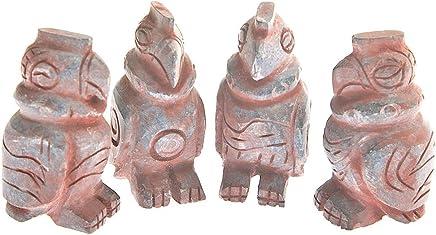 S//M Peruvian Q/'ero Shamans Pachamama Feminine Figurine Bronzed