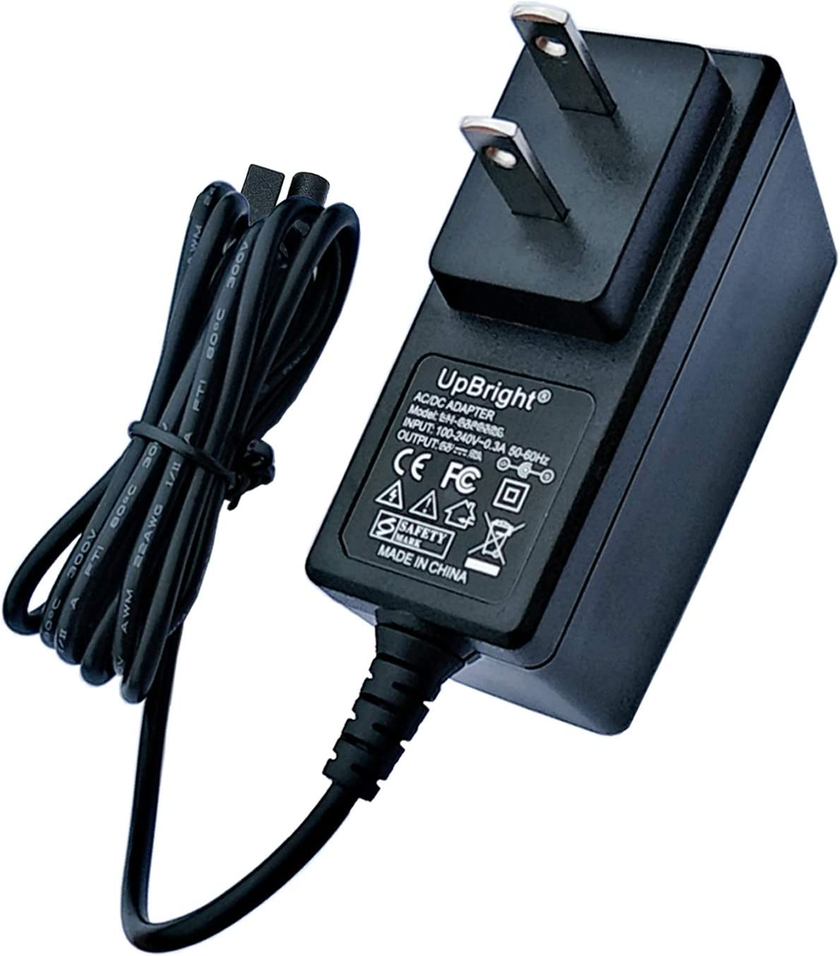 UpBright AC Adapter Compatible with Dirt Devil BD30025B BD30025 B Quick Flip Plus QuickFlip Pro BD30225 Wet Dry 16V Lithium Ion Vacuum Charger 440008693 ZD6E182040US HF-O-01 ZD6E1820330US 18.2V Power