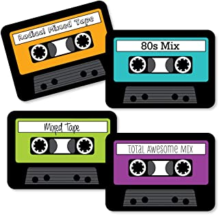 colored cassette tapes