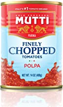 Mutti —14 oz. 12 Pack of Finely Chopped Tomatoes from Italy's #1 Tomato Brand. Adds..