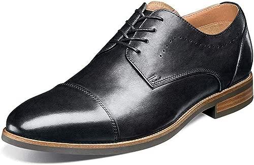 Florsheim Men's Uptown Cap Toe Oxford schwarz Leather Suede 10 EEE US