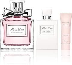 Dior Miss Dior La Collection For Women 3 Piece Set (1.7 Oz Eau De Toilette Spray + 2.5 Oz Moisturizing Body Milk + 0.88 Oz Soap)
