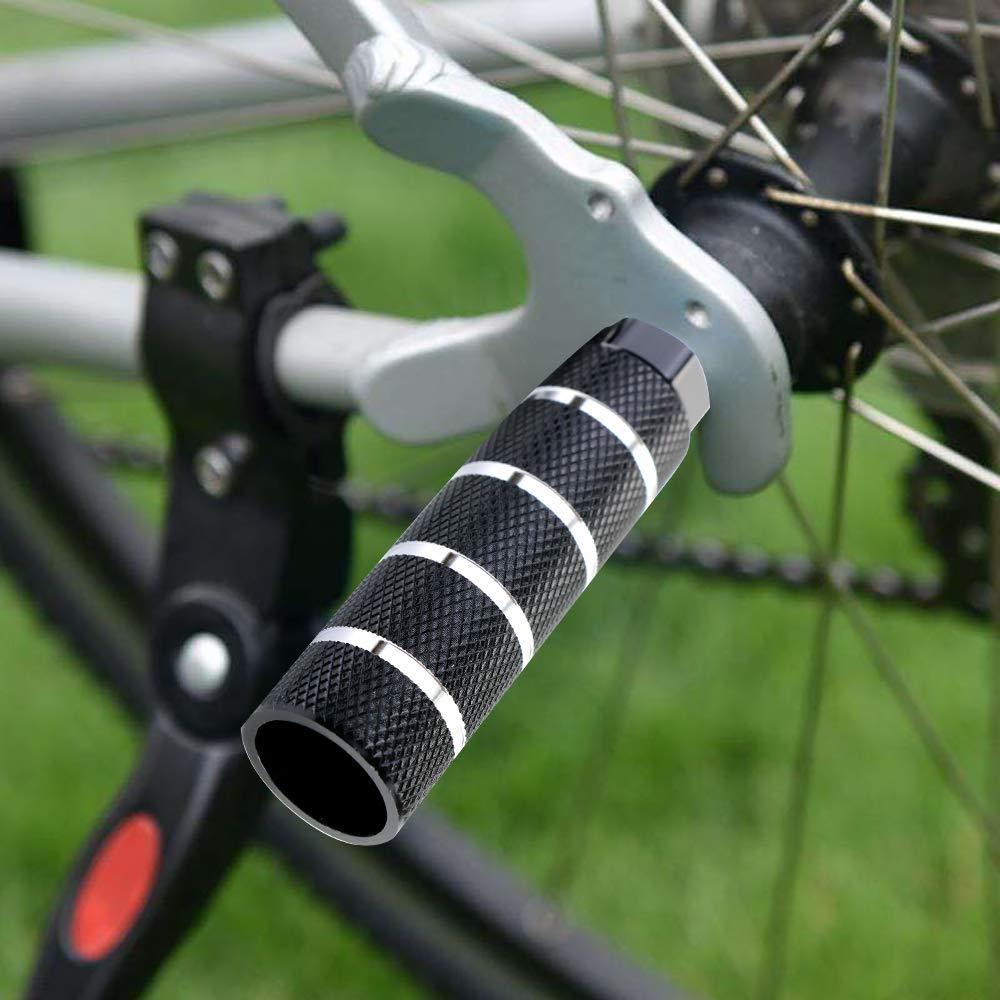 Aluminum Alloy Bicycle Pegs Foot Pegs for Bikes YG/_Oline 2 Pcs Black Bike Pegs