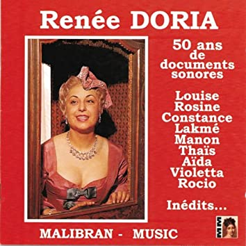 Renée Doria - 50 ans de documents sonores