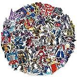 ZXUAN Transformers Pegatinas Autobots Optimus Prime Hornet Maletero Taza de Agua Diario Pegatinas Decorativas no se repiten