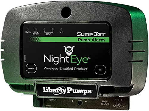 popular Liberty Pumps sale ALM-2-EYE StormCell 442-Series Alarm, NightEye Wireless Enabled, 2021 Indoor, 115V, Wide Angle Float with 20' Cord outlet sale