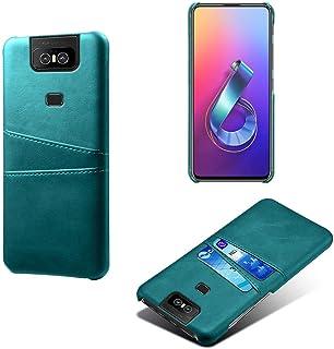 Zenfone 6 ZS630KL ケース Zenfone 6 ZS630KL カバー カード収納 6.4インチ Zenfone 6 ZS630KL 背面ケース ベーシックなデザイン Zenfone 6 ZS630KL カバー MY-ZS630...