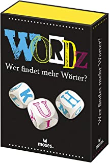 Moses 90238 Wordz-Wer Finds More Words   Word Game for Players from 8 Years, Multicoloured