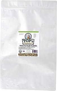 TOP's Parrot Food Bird Pellets for Small Hookbills - Non-GMO, Peanut Soy & Corn Free, USDA Organic Certified (10lbs)