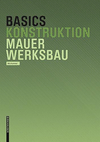 Basics Mauerwerksbau (German Edition)