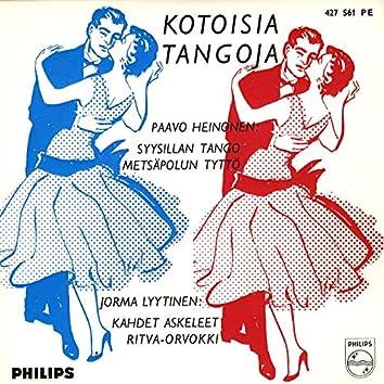 Kotoisia tangoja