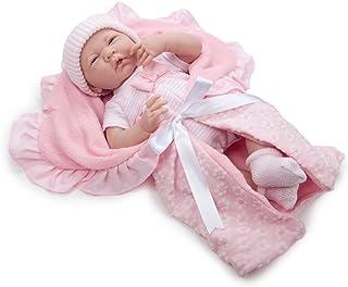 JC TOYS- Muñecos bebé, Color Pink (18780)