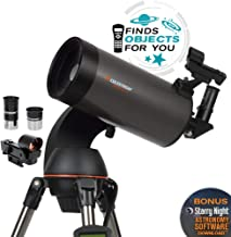 Celestron – NexStar 127SLT Computerized Telescope – Compact and Portable..