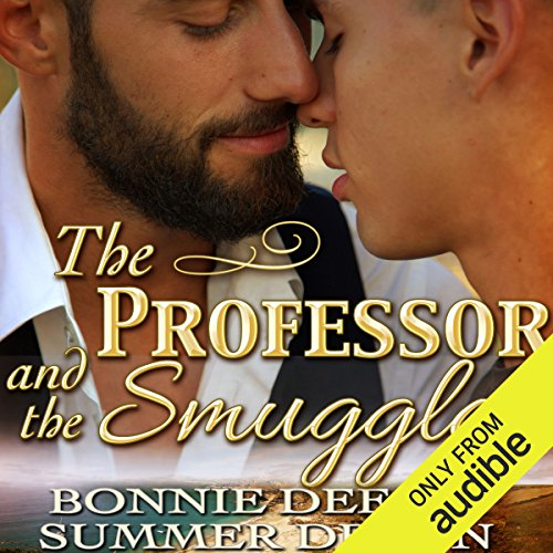 The Professor and the Smuggler audiobook cover art