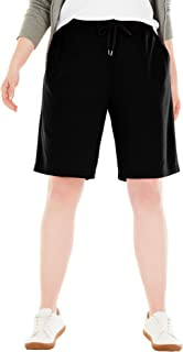 Woman Within Women's Plus Size Sport Knit Short