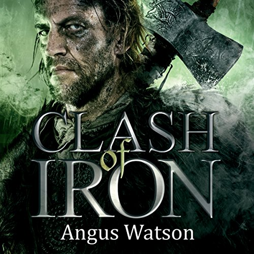 Clash of Iron audiobook cover art